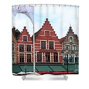 Bruges Markt 6 Shower Curtain