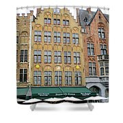 Bruges Markt 7 Shower Curtain