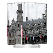 Bruges Markt 9 Shower Curtain