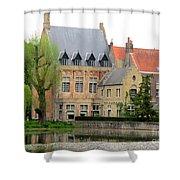 Bruges Sashuis 1 Shower Curtain