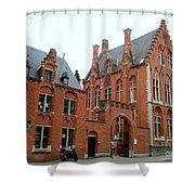 Bruges Sashuis 5 Shower Curtain