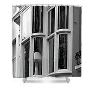 Bruges Window 14 Shower Curtain