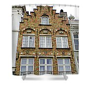 Bruges Window 15 Shower Curtain