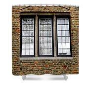 Bruges Window 3 Shower Curtain