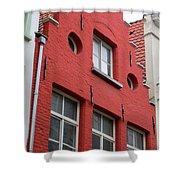Bruges Window 7 Shower Curtain