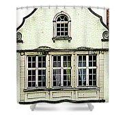 Bruges Window 8 Shower Curtain