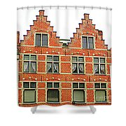 Bruges Window 9 Shower Curtain