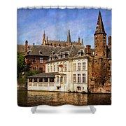 Brugges Shower Curtain