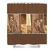 Bruno Lucchesi Backstage Shower Curtain