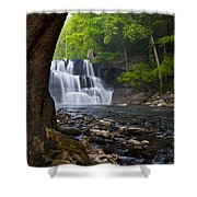 Brush Creek Falls II Shower Curtain
