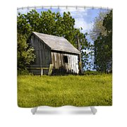 Brushy Peak  Cabin Shower Curtain