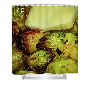 Brussel Sprouts 2 Shower Curtain