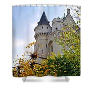 Brussels Fortress Shower Curtain