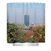 Brussels View Shower Curtain