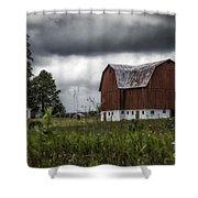 Brutus Barn 1 Shower Curtain