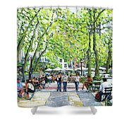 Bryant Park Nyc Shower Curtain