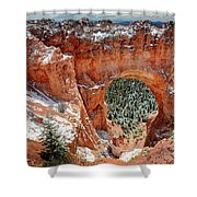 Bryce Arch Shower Curtain