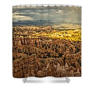 Bryce At Sunset Shower Curtain