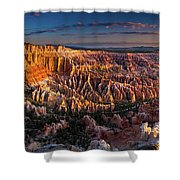Bryce Canyon Early Morning Shower Curtain