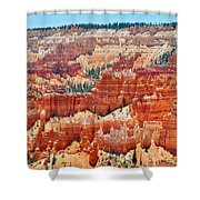 Bryce Canyon Fairyland Point Shower Curtain