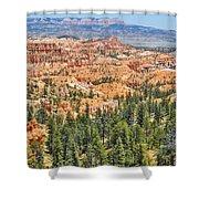 Bryce Canyon Fairyland Vista Point Shower Curtain
