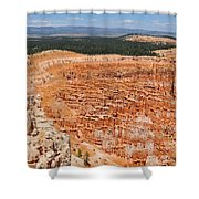 Bryce Canyon Inspiration Point Shower Curtain