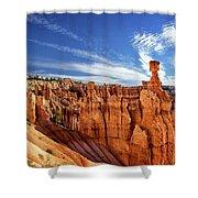 Bryce Canyon Landscape Shower Curtain
