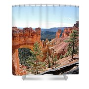 Bryce Canyon Natural Bridge - Utah Shower Curtain