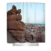 Bryce Canyon Navajo Loop Trail Window Shower Curtain