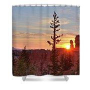Bryce Canyon Sunrise Shower Curtain
