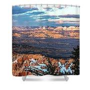 Bryce Canyon Sunset - 2 Shower Curtain