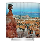 Bryce Canyon Thors Hammer Shower Curtain