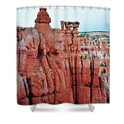 Bryce Canyon Thors Hammer Portrait Shower Curtain
