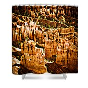 Bryce Canyon Vertical Image Shower Curtain