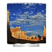 Bryce Time Shower Curtain