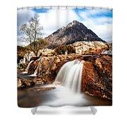 Buachaille Etive Mor Shower Curtain