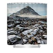 Buachaillie Etive Mor, Glencoe, Scotland Shower Curtain