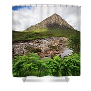 Buachaville Etive Mor Shower Curtain