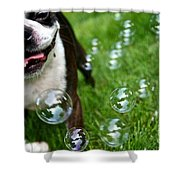 Bubble Busting Shower Curtain