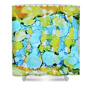 Bubble Collection Shower Curtain