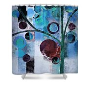 Bubble Tree - 055058167-86a7b2 Shower Curtain