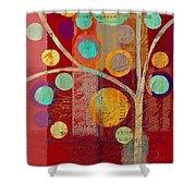 Bubble Tree - 85lc13-j678888 Shower Curtain
