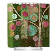 Bubble Tree - 85lc16-j678888 Shower Curtain