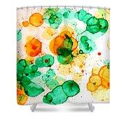 Bubbleicious Shower Curtain