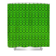 Bubbles All Over The Place -5-grn Shower Curtain