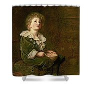 Bubbles Shower Curtain by Sir John Everett Millais