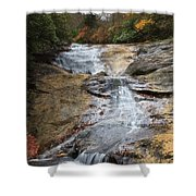 Bubbling Spring Branch Cascades Shower Curtain