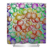 Bubbly Bubbles 2 Shower Curtain