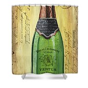 Bubbly Champagne 2 Shower Curtain