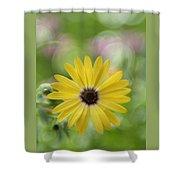 Bubbly Lemon Symphony Shower Curtain